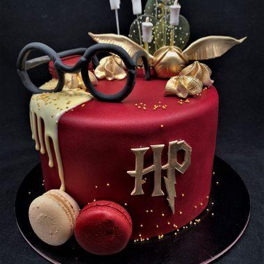 """Vaikiškas tortas """"Haris poteris"""""""