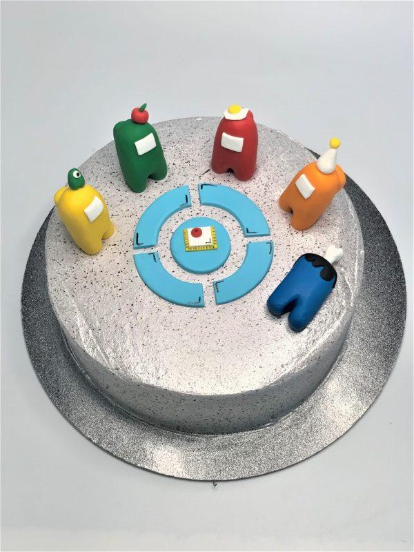 Vaikiškas tortas su amongais