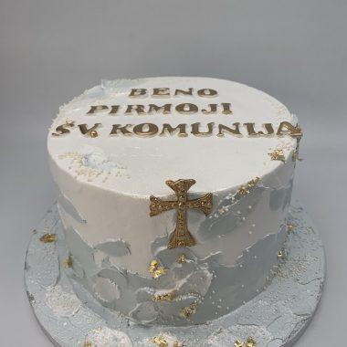 Komunijos tortas su potepiais