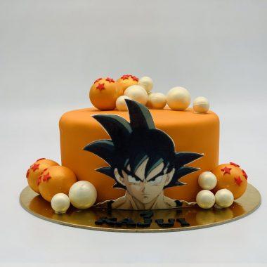 """Vaikiškas tortas """"Drakonų kova"""""""