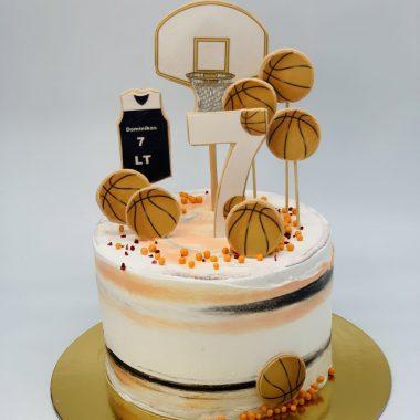 """Vaikiškas tortas """"Krepšinio fanas"""""""