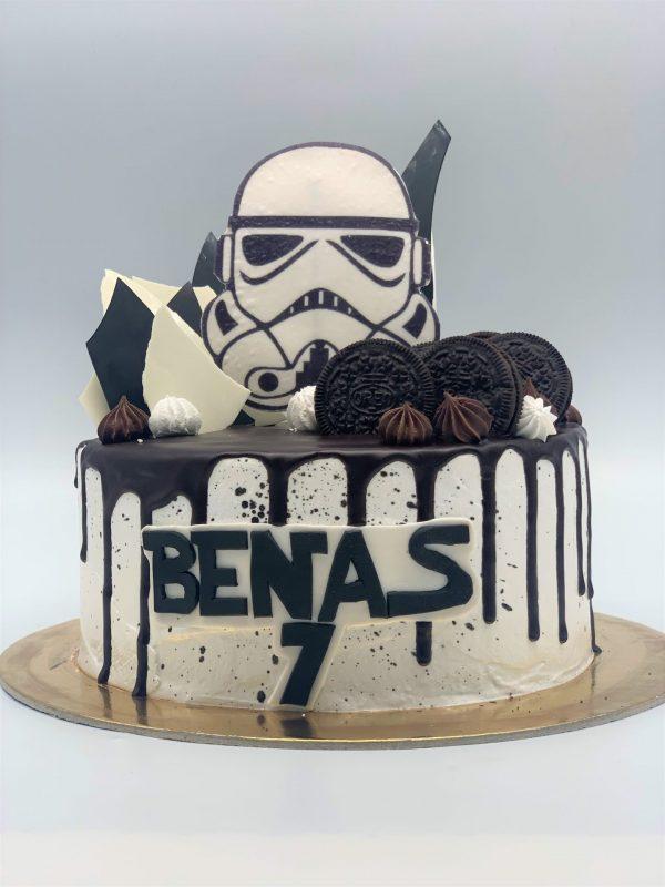Žvaigždžių karų tortas