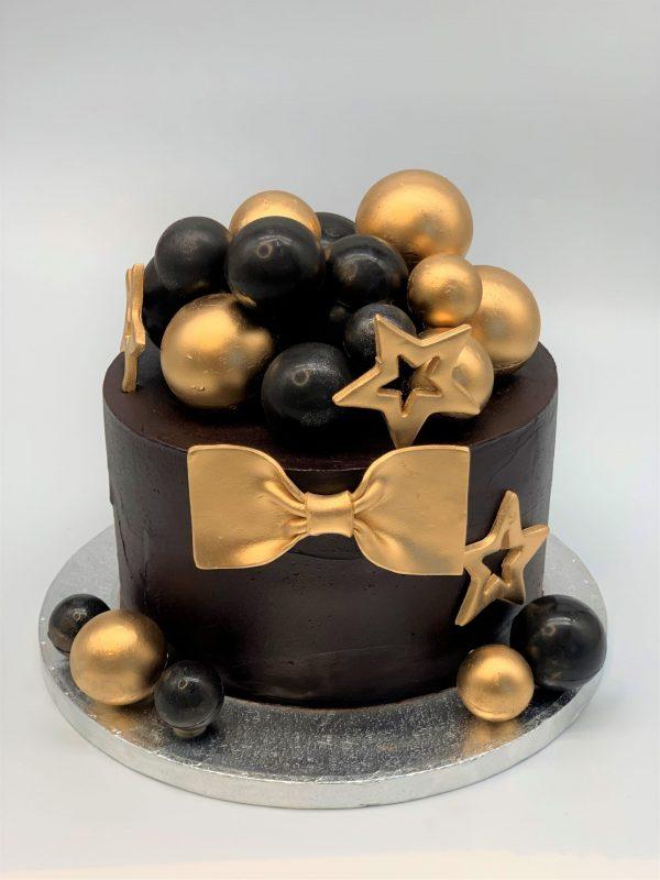 """Jubiliejinis tortas """"Auksinė varlytė"""""""